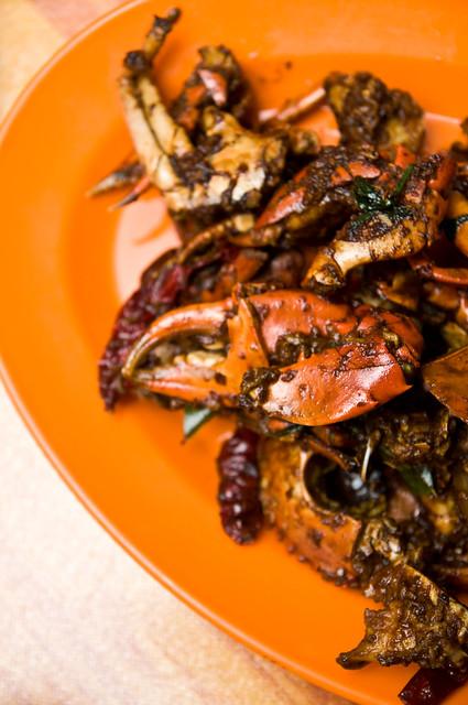 Kung Po Crab