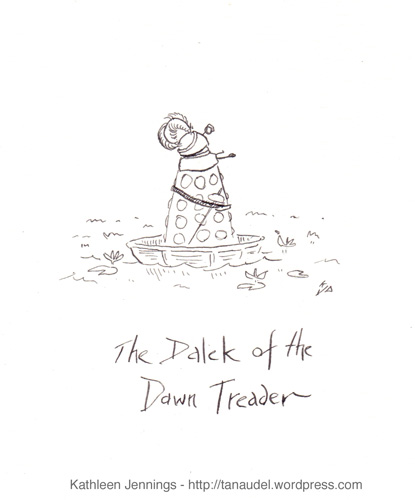 The Dalek Of The Dawn Treader