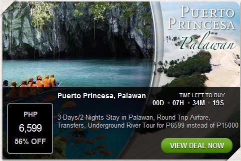3D/2N Stay in Puerto Princesa Palawan Promo