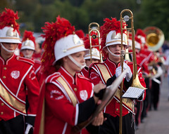 soldier(0.0), tradition(0.0), firefighter(0.0), festival(1.0), marching band(1.0), musician(1.0), event(1.0), musical ensemble(1.0), marching(1.0), person(1.0),