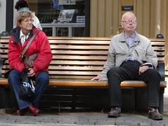 People resting