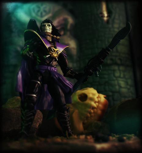 Playmates Skeleton Warriors - Grimskull