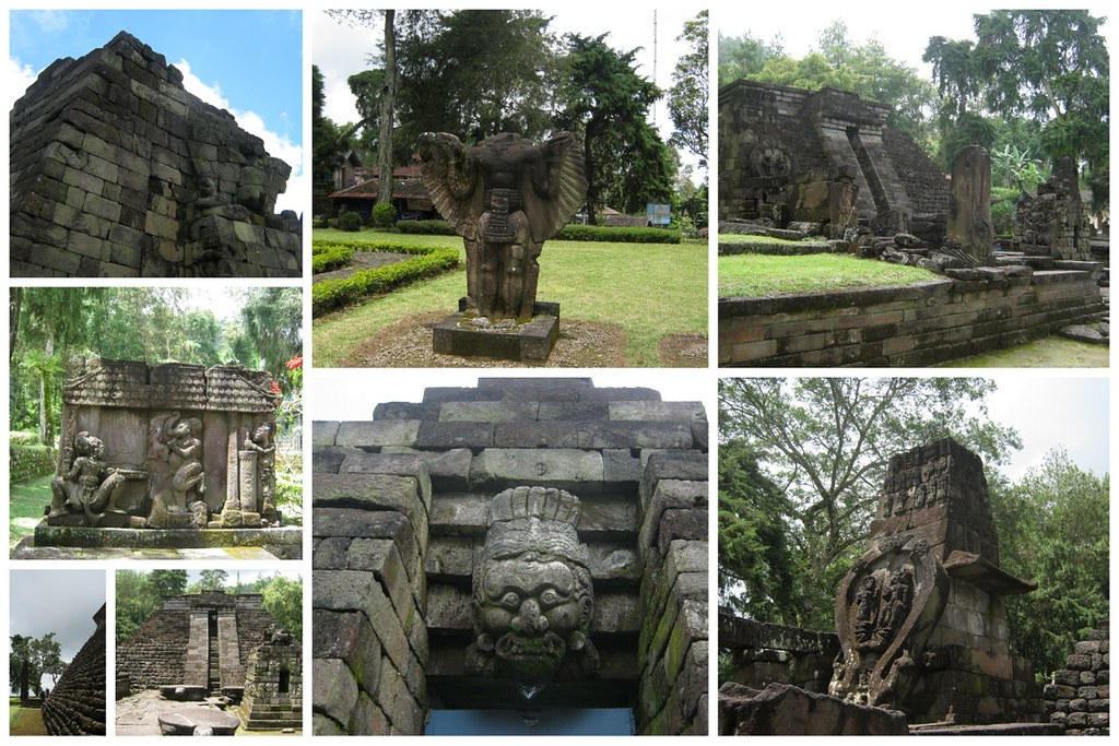Sights of Candi Sukuh