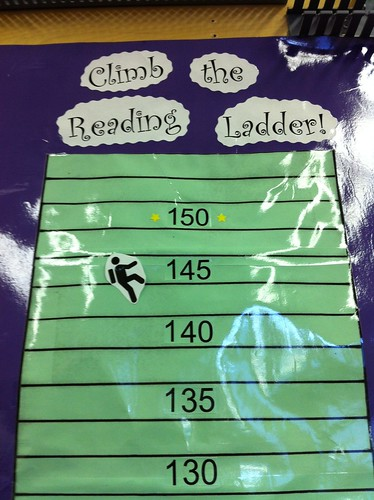 Reading Ladder -Close up
