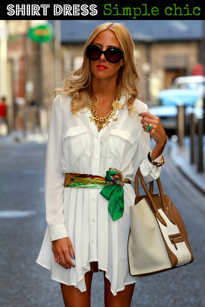 style lover shirt dress