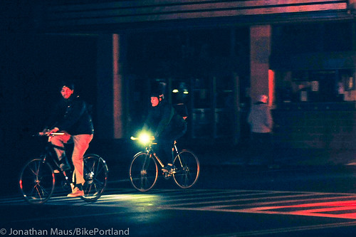 Biking the blackout - NYC-14