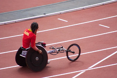 sprint(0.0), athletics(0.0), keirin(0.0), sport venue(1.0), sports(1.0), wheelchair racing(1.0), race track(1.0), athlete(1.0),