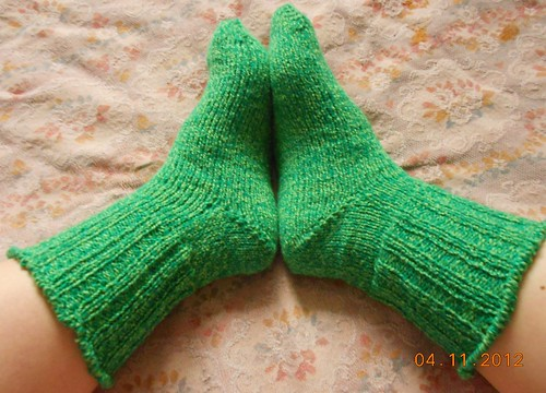 Носки 6 от мыска оба носка целиком