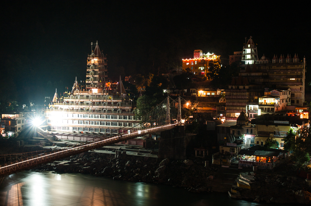 Trayambakeshwar Temple in the night
