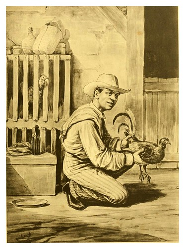 001-El gallero-Tipos y costumbres de la isla de Cuba…1881-Victor P. Landaluze