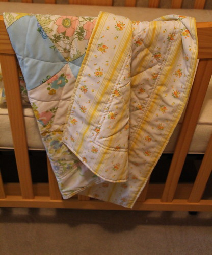 IC#22- Vintage Sheet Quilt
