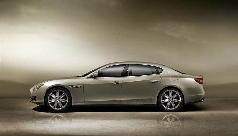 new 2013 Maserati Quattroporte Side