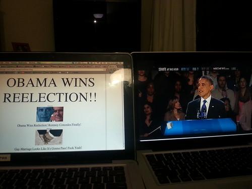 Obama 2012 victory