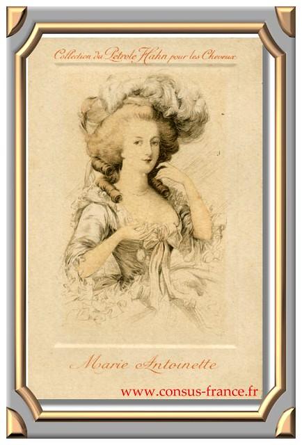 Collection du Pétrole Hahn pour les Cheveux Marie-Antoinette -70-150
