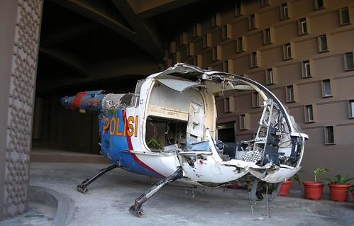 Helikopter yang diterjang tsunami Aceh