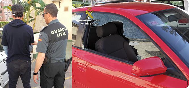 La Guardia Civil esclarece una docena de robos en vehículos en Pozo Estrecho