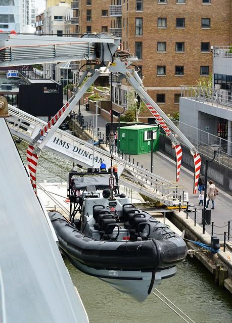 HMS Duncan (50)  @ West India Dock 21-05-16