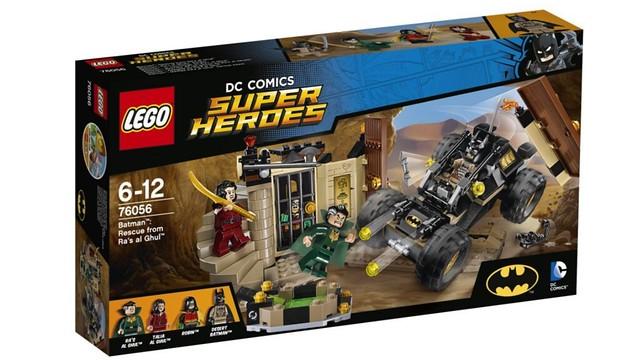 DC Comics Super Heroes LEGO 76056 Batman Rescue from Ra's al Ghul
