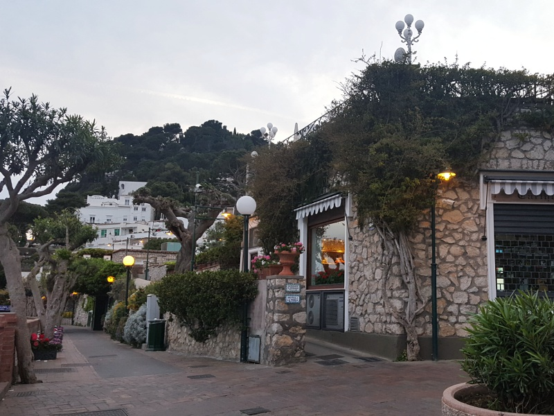 Capri streets