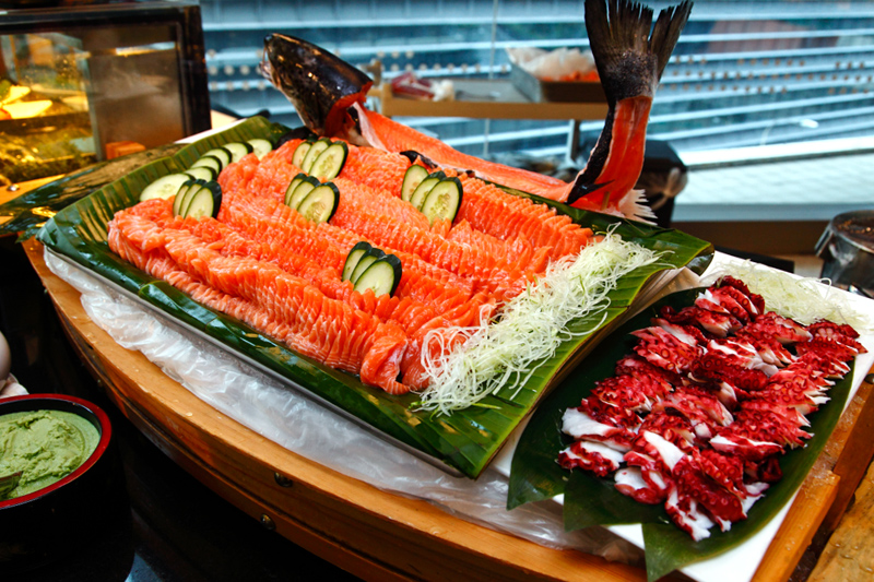 Latest Recipe Meridien Salmon Sashimi