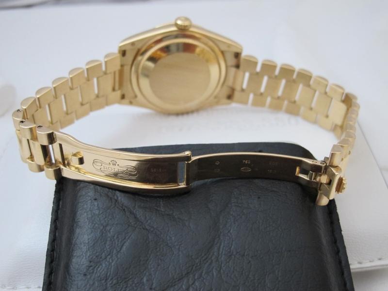 Bán đồng hồ rolex day date 6 số 118238 – vàng 18k Yellow – mặt hạt xoàn – size 36mm