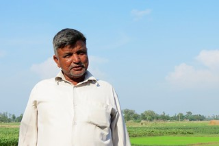 Abdul Rahiman Ansari has been producing fresh vegetables for the Nepalgunj market for 35 years