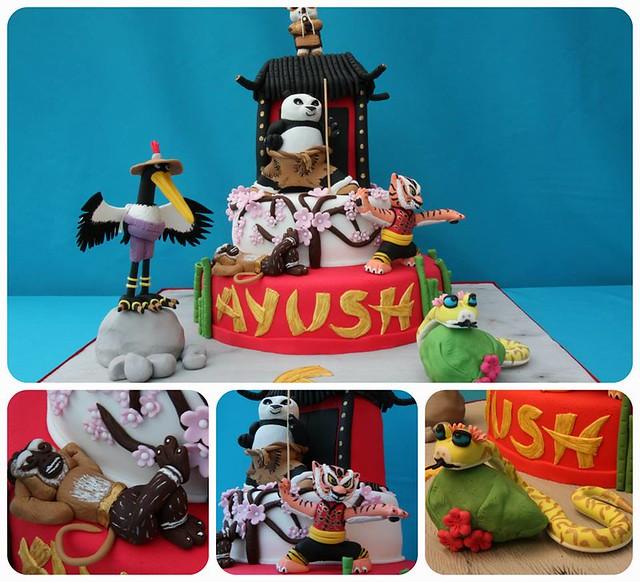 Kung Fu Panda Cake by SK Cakes