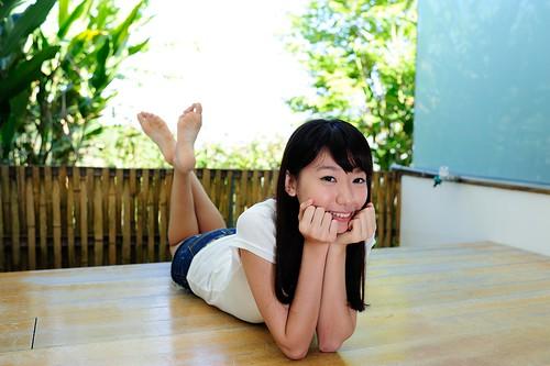無料写真素材, 人物, 女性  アジア, 台湾人, 頬杖, 女性  横たわる・寝転ぶ