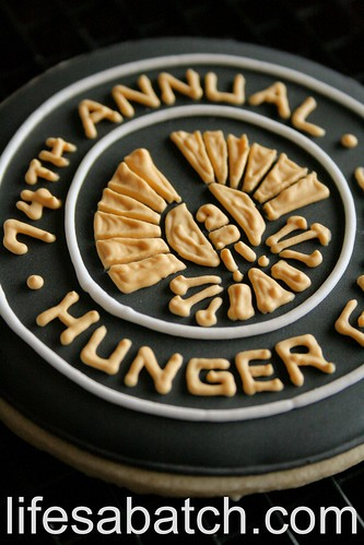 74th Annual Hunger Games Cookie.
