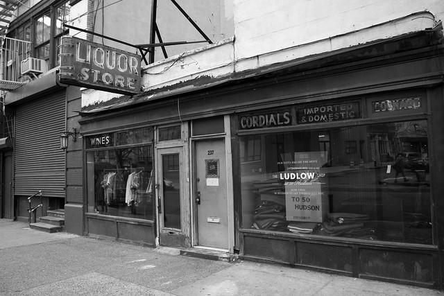 Ludlow Shop, #217 West Broadway, New York City, New York.  March 12 2012.
