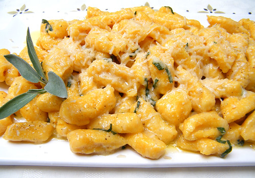 Gnocchi with Sage Butter Sauce by katiemetz, on Flickr