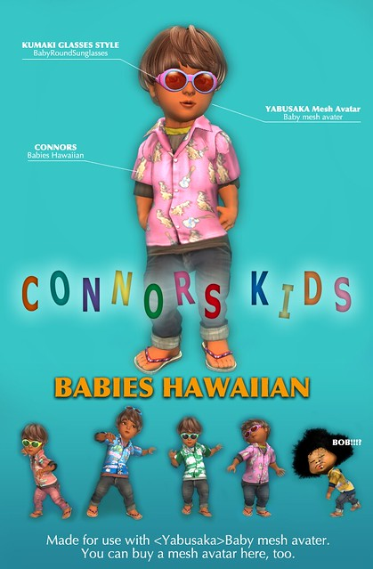 CONNORS KIDS Babies Hawaiian POP