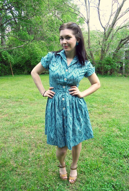 Shirtwaist Dress - no belt