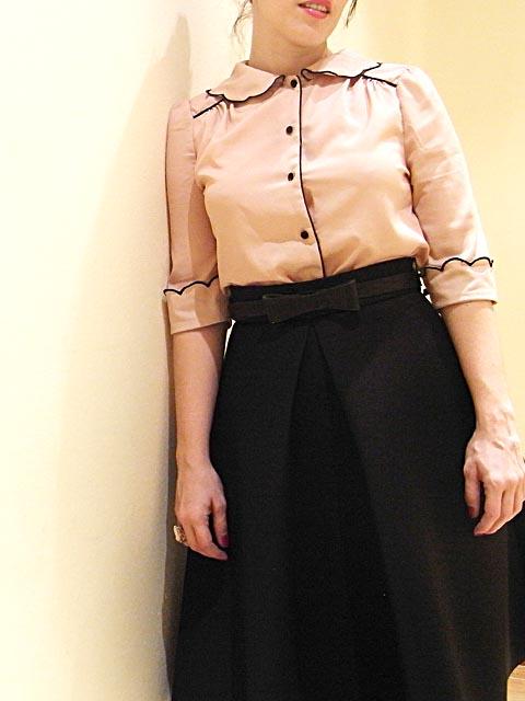 blusa de primark y falda de h&m