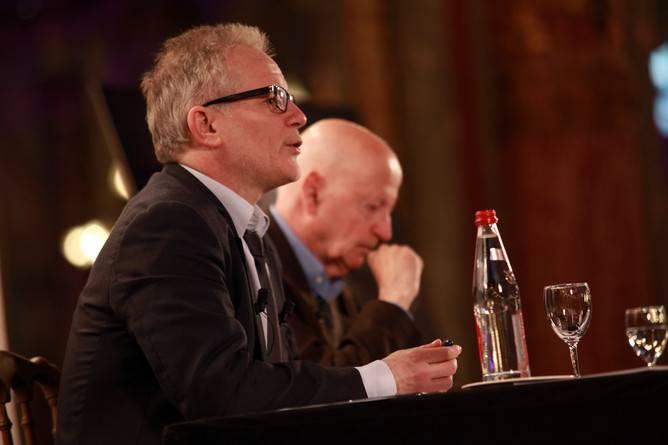 65ª edição do Festival de Cannes — Conferência de Imprensa - Thierry Frémaux and Gilles Jacob