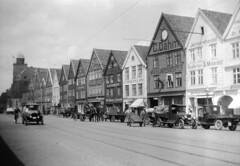 Bryggen, the old wharf of Bergen, Norway