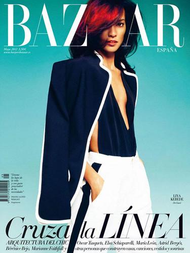 Liya-Kebede-Harpers-Bazaar-Spain-May-2012-cover