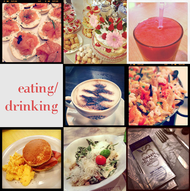 food drink coffee instagram blog post