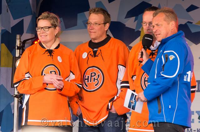 Suomi kiekko kiertue 2012 - Hämeenlinna