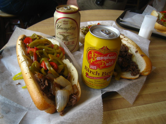 philly cheese steak!