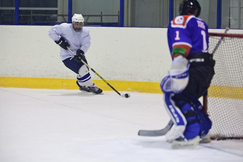 Тренировка хоккеистов