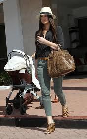 Khloe Kardashian Odom Cargo Jeans
