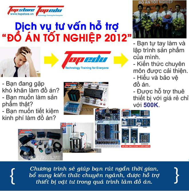 Chương trình tư vấn đồ án miễn phí 2012