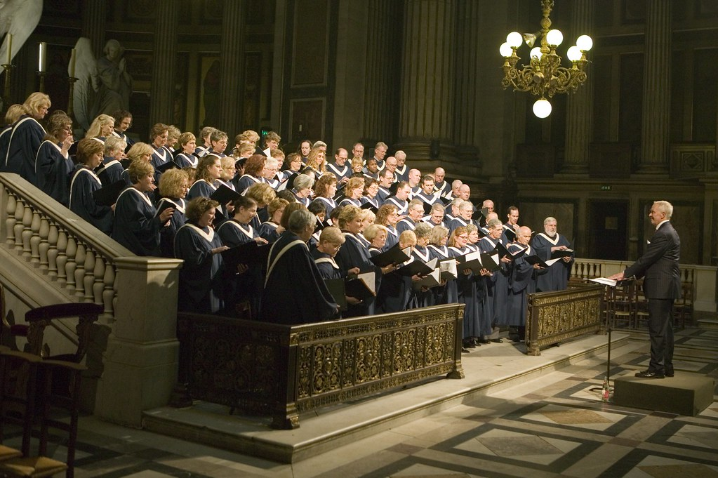 Highland Park United Methodist Church Chancel Choir in La Madeleine, Paris