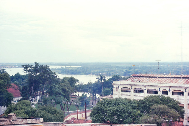 Saigon 1964 - Caravelle Hotel Top - Saigon River View