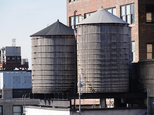 NYC Wooden Water Tanks