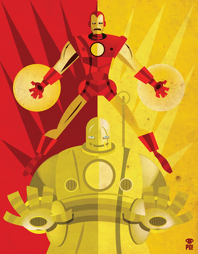 The Invincible Iron Man  by PO!!