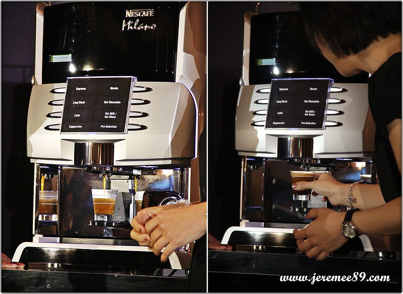 Nescafe Milano Launching @ E&O Hotel - Making In Process Espresso