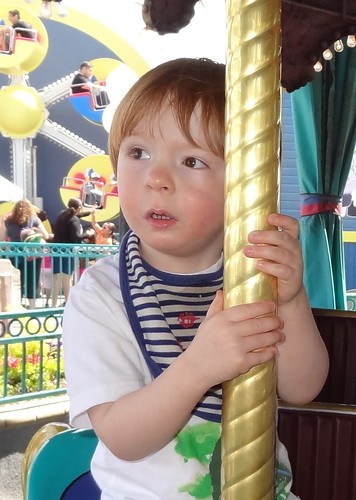 Archie on the Carousel