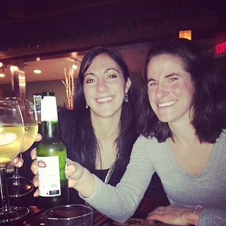 Nadia and Cass! Cheers!